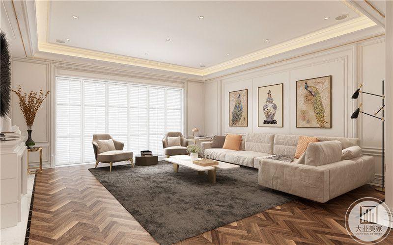 柔软丝绒地毯,暗金灰色泽,防潮耐脏与纯色布艺碰撞,雕琢典雅气息,