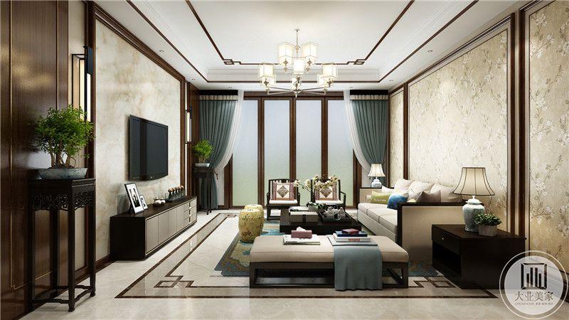 客厅 影视墙
