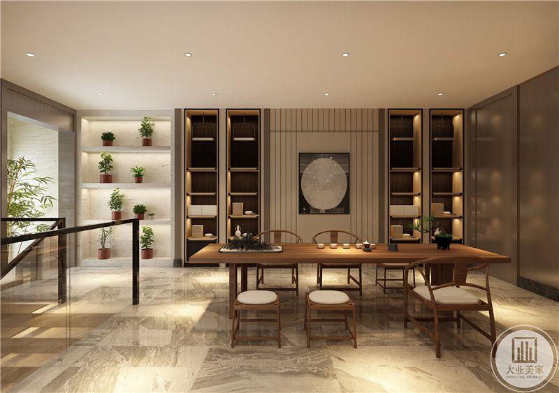 休闲室装修效果图:从这里可以看到整体装饰布局。
