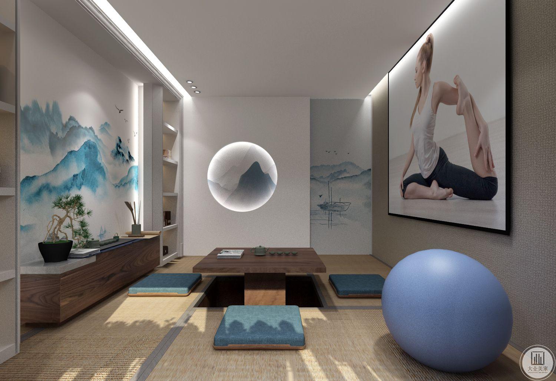 榻榻米 的房间是为了户主更好的练习冥想和瑜伽。