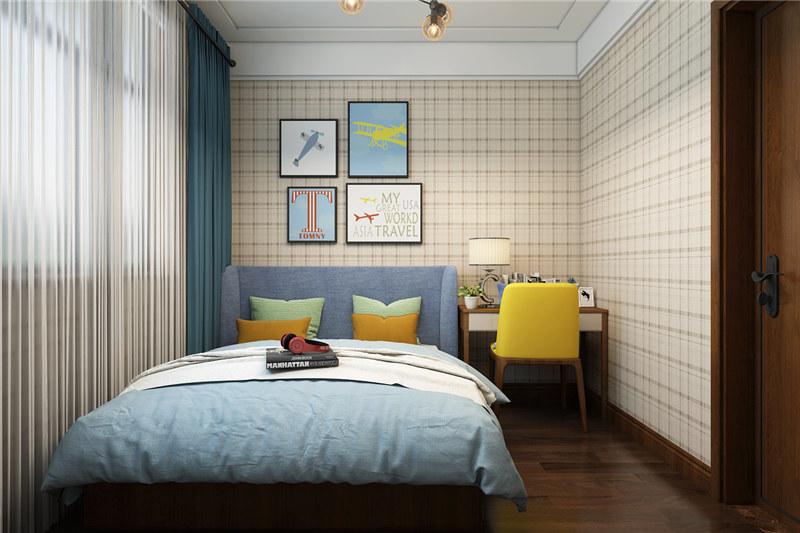 济南大业美家-济南别墅装修中卧室装修这样装,给你满满的幸福感