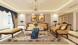 鼎秀家园208平大户型简欧四室二厅装修效果图