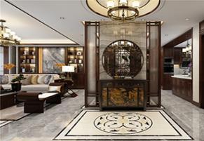 海珀天沅198平新中式四室二厅装修效果图