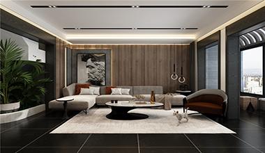 新生活家园225平大户型四室二厅现代装修效果图
