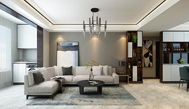华润仰山170平大户型四室二厅现代简约装修效果图