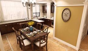 名悦山庄181平大户型四室二厅美式装修效果图
