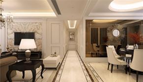 财富中心一期143平中户型三室二厅现代欧式装修设果图