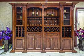 济南装修公司:实木酒柜后期维护保养的注意事项