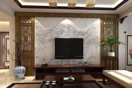 济南槐荫区装修:中式电视墙装修的注意事项