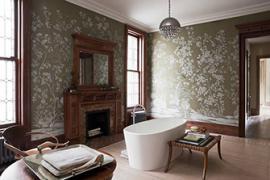 济南长清区装修:墙面贴壁纸好还是刷乳胶漆好