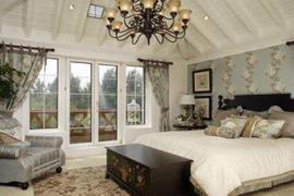 济南室内装修:卧室推拉门的尺寸和选购技巧