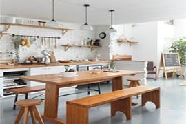 济南海珀天沅装修:厨房中厨具摆放的风水禁忌