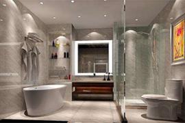 房屋装修:卫生间隔断玻璃门污渍清理方法