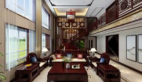 唐人中心1200平传统中式装修效果图