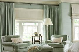 新房装修:窗帘颜色的选择和安装技巧