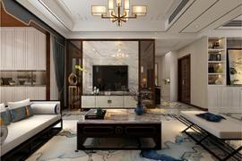 济南房屋装修:客厅电视背景墙的种类及装修技巧