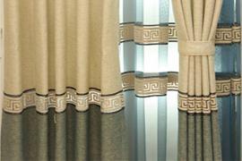 济南家庭装修:新中式装修中窗帘的选购技巧