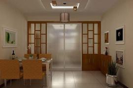 济南碧桂园装修:厨房隔断门的种类介绍