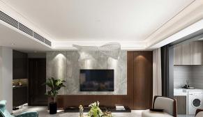 龙湖春江郦城150平现代轻奢风格装修设计效果图
