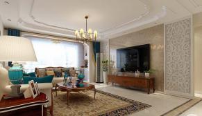 鼎秀家园160平欧式风格装修效果图