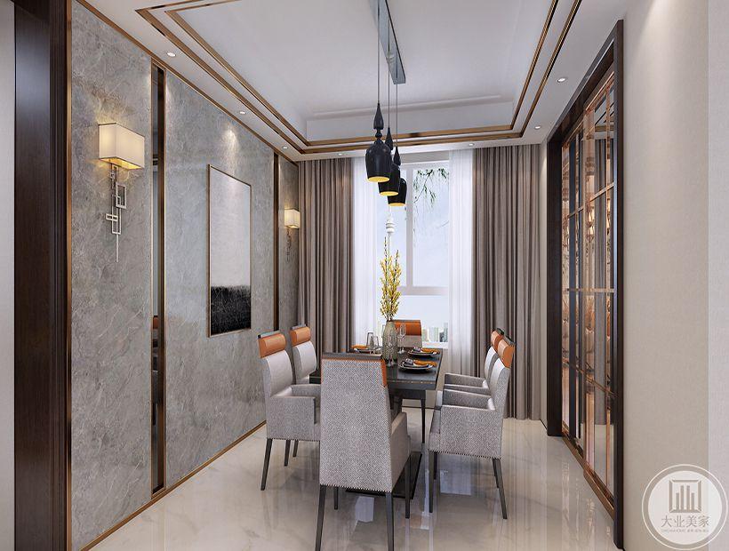 餐厅 居室的实用性和工业化社活的精致与个性