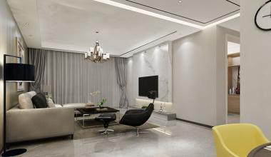 大溪地160平四室一厅新中式装修效果图
