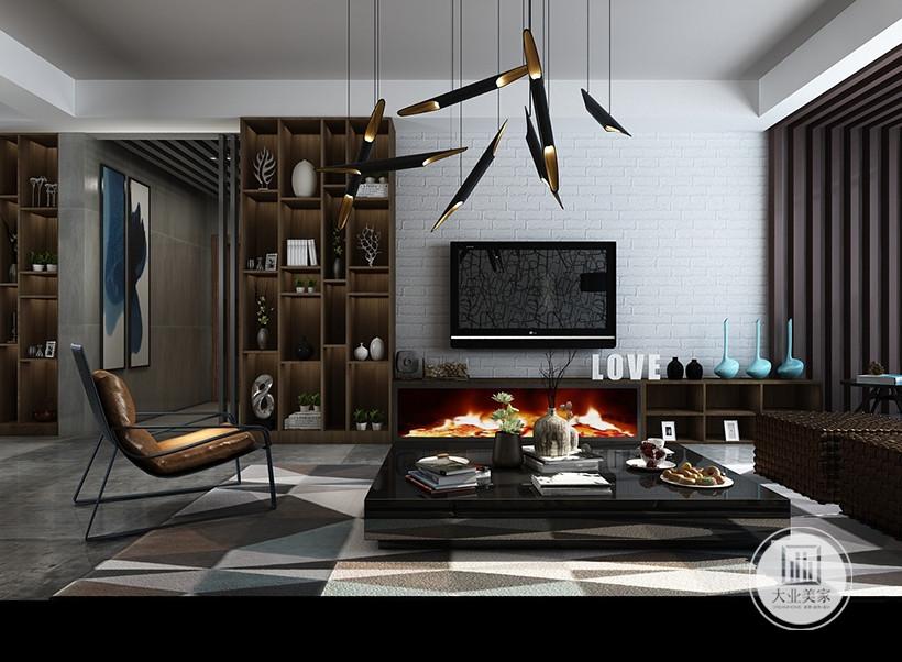 客厅的以暖白色为主调,加入一些玫瑰金等质感强烈的元素,塑造展现一个休闲又不失奢华的氛围,墙面的单色浅纹处理简洁而富品味,乳白色的舒适感极强的布艺沙发是客厅的焦点所在。