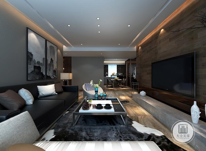 灰褐色为主调,黑白为辅的棉麻家居布艺装饰,闪耀着睿智的光芒,提升整个室内品味。