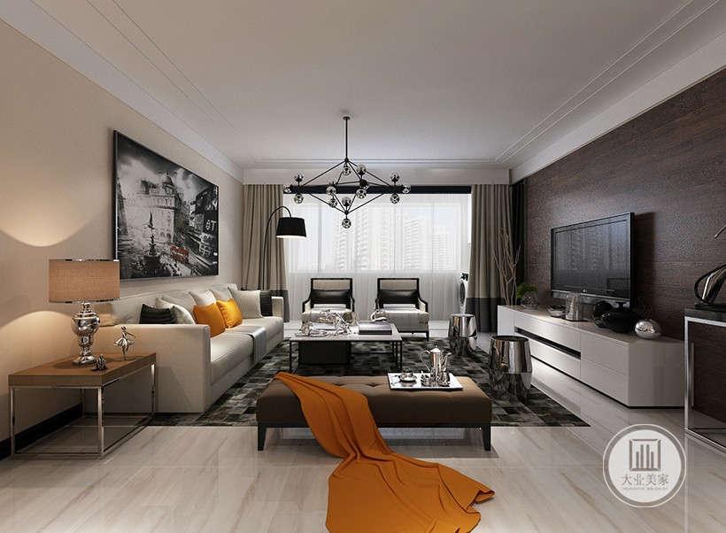 室内墙面、地面、顶棚以及家具陈设乃至灯具器皿等均以简洁的造型、纯洁的质地、精细的工艺为其特征。去掉多余的装饰,留下的精华装饰,带来前卫、不受拘束的感觉。
