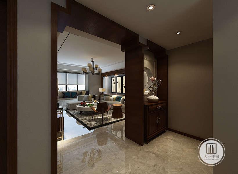 """空间没有过多家具摆件,追求的是""""原汁原味""""和非常自然和谐的搭配。"""