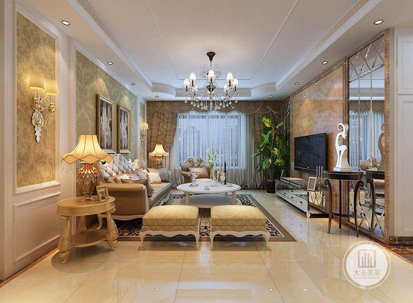 金色系列家具,独特的光泽使家具倍感时尚,具有舒适与美观并存的享受。在配饰上,选择与天然材料相近的自然色彩,如表现木材年代久远的褐色、亚麻布上干净的米色、陶器上自然的颜色,以简洁的造型、完美的细节,营造出时尚前卫的感觉。